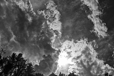 Photograph - Sun And Clouds by Tom Culver