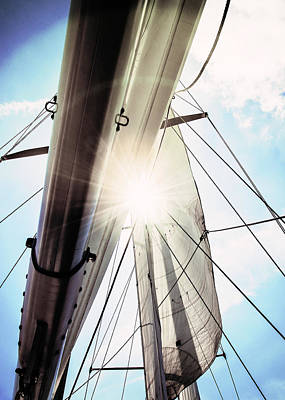 Sun And Sails Art Print