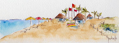 Painting - Sun And Sand by Pat Katz