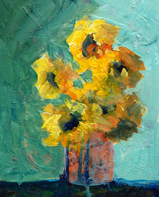 Painting - Sun And Shadow by Nancy Merkle