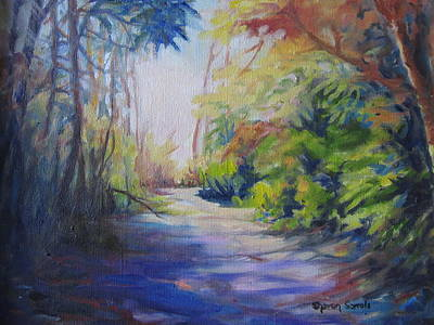 Painting - Sun And Shadows by Sharon Sorrels