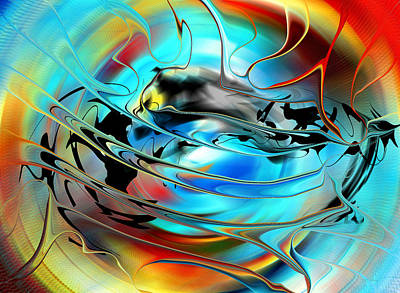 Digital Art - Sun And Weather - North America by rd Erickson