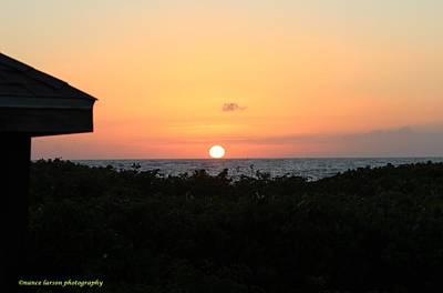 Photograph - Sun Arises  by Nance Larson