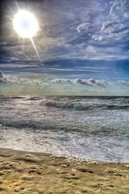Photograph - Sun At The Beach by Jonny D