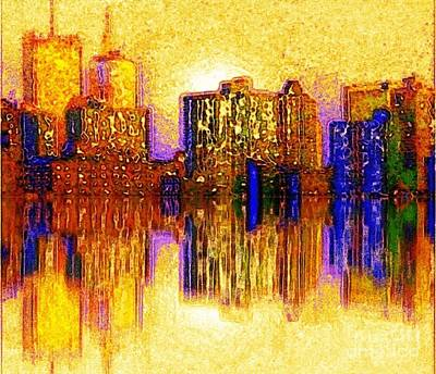 New York Heat Art Print by Holly Martinson