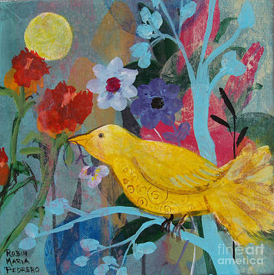 Painting - Sun Bearer by Robin Maria Pedrero