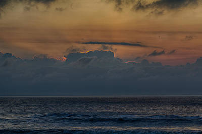 Photograph - Sun Behind The Clouds by Leah Palmer