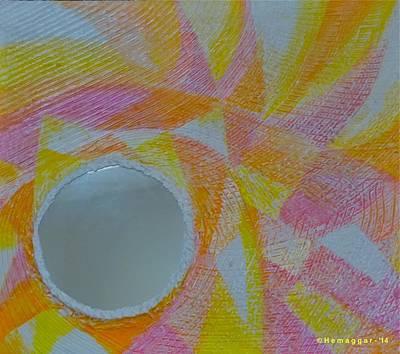 Painting - Sun Blast by Hemu Aggarwal