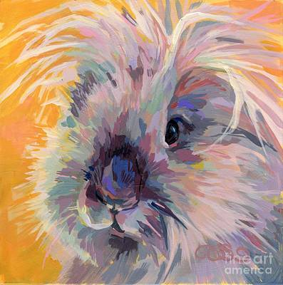 Sun Bun Art Print by Kimberly Santini