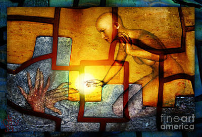 Sun Catcher Art Print by Rosa Cobos