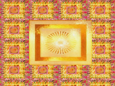 Travel - SUN Chakra Gold Pattern Textures Patterns Background Designs  and Color Tones n Color Shades availab by Navin Joshi