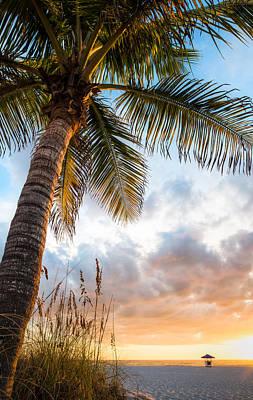 Sun Coast Beauty Art Print