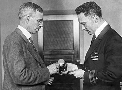 Photograph - Sun Compass For Admiral Byrd by Underwood Archives