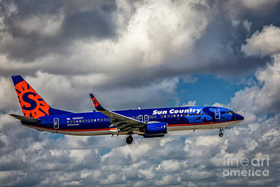 Sun Country Boeing 737 Ng Art Print