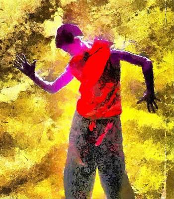 Dance Digital Art - Sun Dance by Gun Legler