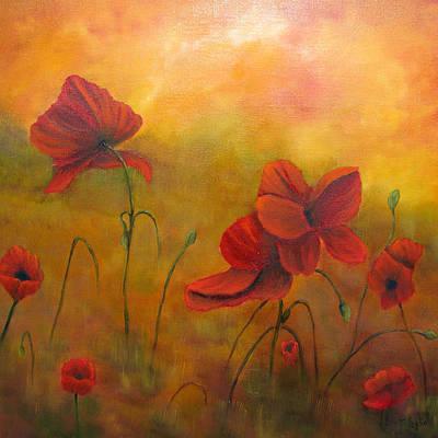 Painting - Sun Dancers by Loretta Luglio