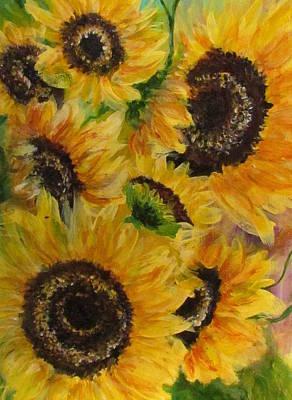 Painting - Sun Danse by France Laliberte