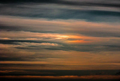 Photograph - Sun Dog Landscape by Christy Usilton