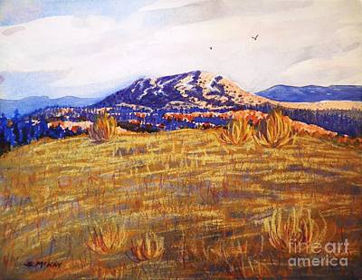 Painting - Sun-drenched Hills by Suzanne McKay