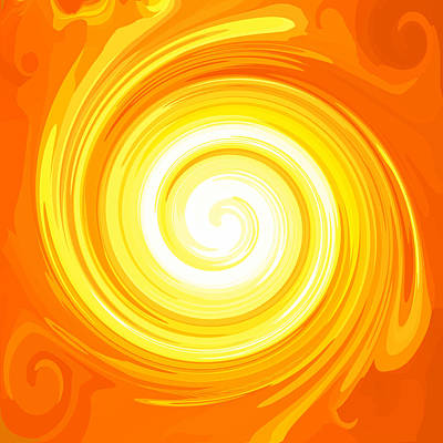 Concentration Digital Art - Top Energy-spiral No. 01 by Ramon Labusch