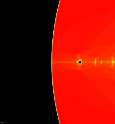 Sun Exploration - Left Panel Original