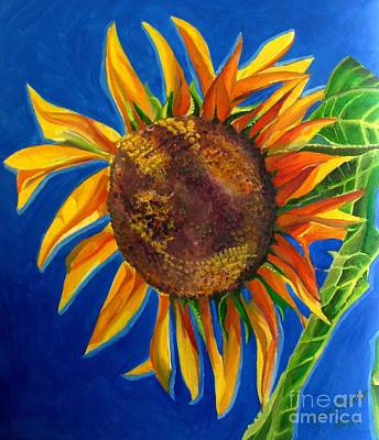 Painting - Sun Flower by Grace Liberator