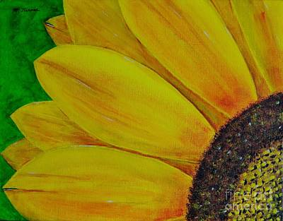 Painting - Sun Flower by Melvin Turner