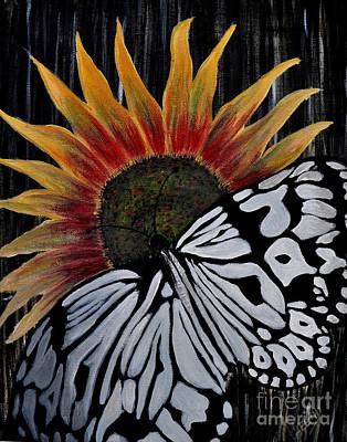 Painting - Sun-fly by Preethi Mathialagan