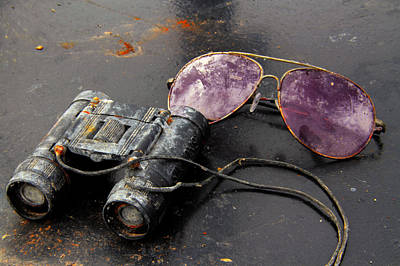 Photograph - Sun Glasses And Binoculars by Jim Vance