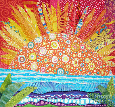 Tapestry - Textile - Sun Glory by Susan Rienzo