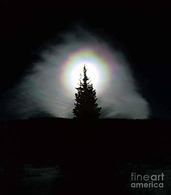 Photograph - Sun Halo by Howard Bluestein