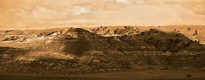 Digital Art - Sun Hills Montana by Aliceann Carlton