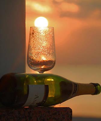 Photograph - Sun In Glass by Leticia Latocki