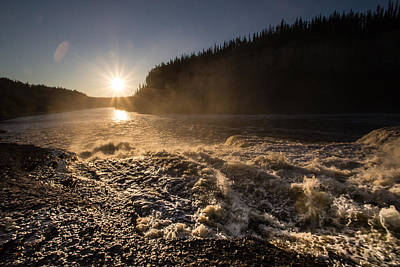 Photograph - Sun In The Distance by Darren Langlois