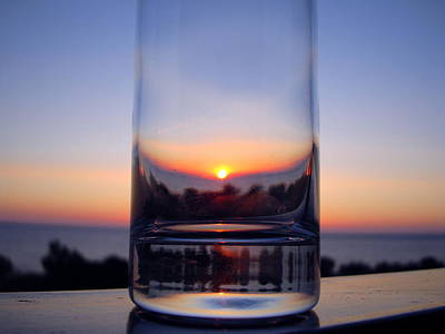 Photograph - Sun In The Glass by Andreas Thust