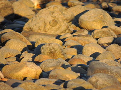 Photograph - Sun Kissed Rocks by Anastasia Konn