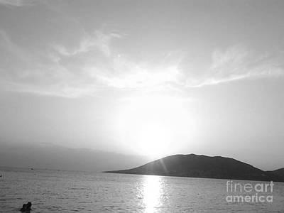 Photograph - Sun Light In Black by Katerina Kostaki