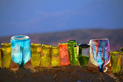 Sun Meets Glass Art Print by Dan Redmon