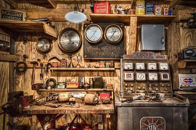 Toy Shop Photograph - Sun Motor Tester by Debra and Dave Vanderlaan