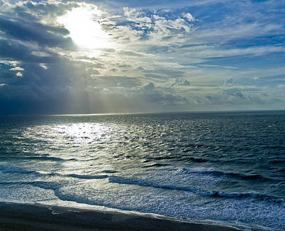 Photograph - Sun On The Ocean by Jonny D