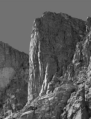 Photograph - 209618-bw-sun On The Watchtower, Wind Rivers by Ed  Cooper Photography