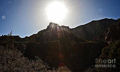 Photograph - Sun Over Oak Creek by Lee Craig