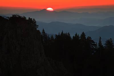 Photograph - Sun Over The Mountain  by Svetoslav Sokolov