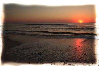 Sun Over The Ocean Art Print