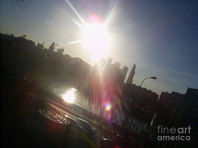Moscow Skyline Photograph - Sun Passion by Anna Yurasovsky