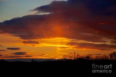 Photograph - Sun Pillar by Mark Dodd