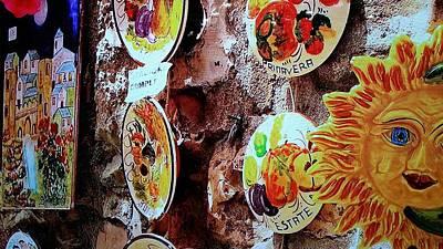 Sun Potery Art Print by Rob Hans