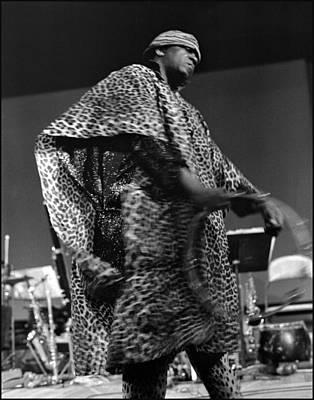 Uc Davis Photograph - Sun Ra 1968 by Lee  Santa