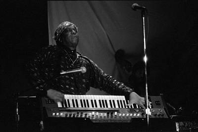 Sun Ra Plays 4 Art Print