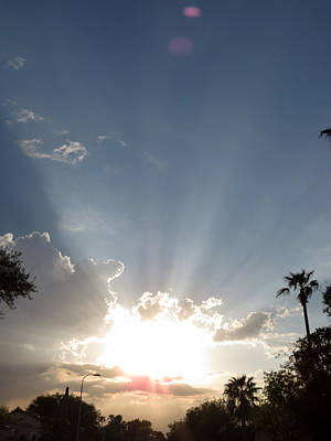 Photograph - Sun Rays by Laurel Powell